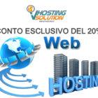 Sconto Esclusivo Hosting Web